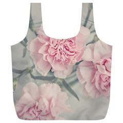 Cloves Flowers Pink Carnation Pink Full Print Recycle Bags (l)