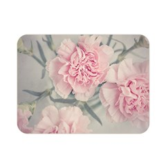 Cloves Flowers Pink Carnation Pink Double Sided Flano Blanket (Mini)