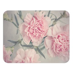 Cloves Flowers Pink Carnation Pink Double Sided Flano Blanket (large)