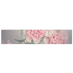 Cloves Flowers Pink Carnation Pink Flano Scarf (small)