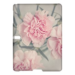 Cloves Flowers Pink Carnation Pink Samsung Galaxy Tab S (10 5 ) Hardshell Case