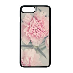 Cloves Flowers Pink Carnation Pink Apple Iphone 7 Plus Seamless Case (black)