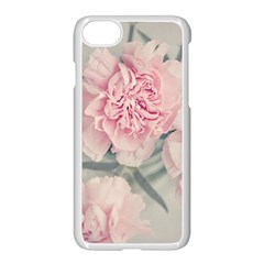 Cloves Flowers Pink Carnation Pink Apple Iphone 7 Seamless Case (white)