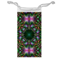 Digital Kaleidoscope Jewelry Bag