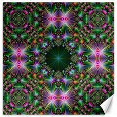 Digital Kaleidoscope Canvas 16  X 16
