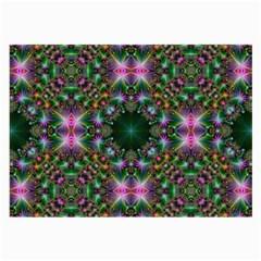 Digital Kaleidoscope Large Glasses Cloth