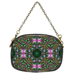 Digital Kaleidoscope Chain Purses (two Sides)
