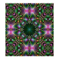 Digital Kaleidoscope Shower Curtain 66  X 72  (large)