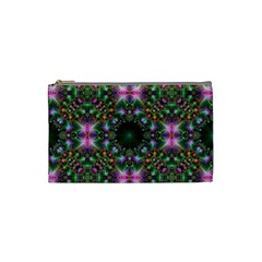 Digital Kaleidoscope Cosmetic Bag (Small)