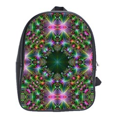 Digital Kaleidoscope School Bags(large)
