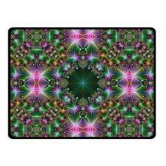 Digital Kaleidoscope Fleece Blanket (small)