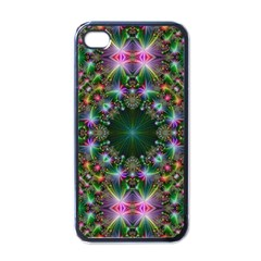 Digital Kaleidoscope Apple Iphone 4 Case (black)