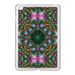 Digital Kaleidoscope Apple Ipad Mini Case (white)