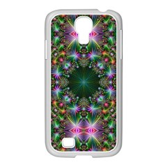 Digital Kaleidoscope Samsung Galaxy S4 I9500/ I9505 Case (white)