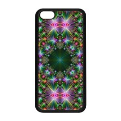Digital Kaleidoscope Apple Iphone 5c Seamless Case (black)