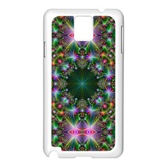 Digital Kaleidoscope Samsung Galaxy Note 3 N9005 Case (white)