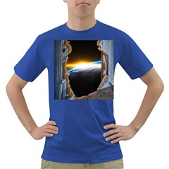 Door Breakthrough Door Sunburst Dark T Shirt