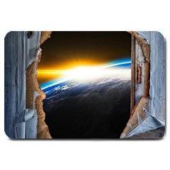 Door Breakthrough Door Sunburst Large Doormat