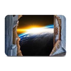 Door Breakthrough Door Sunburst Plate Mats