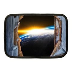 Door Breakthrough Door Sunburst Netbook Case (medium)