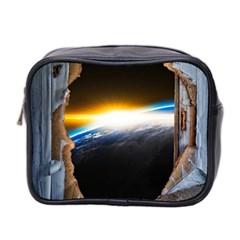 Door Breakthrough Door Sunburst Mini Toiletries Bag 2 Side