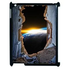 Door Breakthrough Door Sunburst Apple Ipad 2 Case (black)