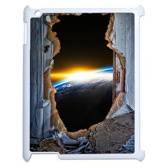 Door Breakthrough Door Sunburst Apple Ipad 2 Case (white)