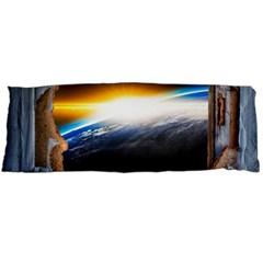 Door Breakthrough Door Sunburst Body Pillow Case (dakimakura)