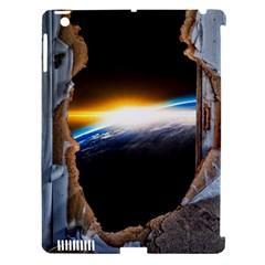 Door Breakthrough Door Sunburst Apple Ipad 3/4 Hardshell Case (compatible With Smart Cover)
