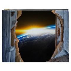 Door Breakthrough Door Sunburst Cosmetic Bag (xxxl)