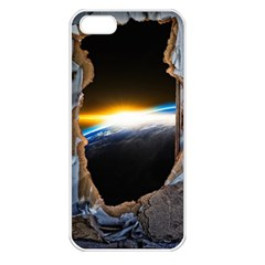 Door Breakthrough Door Sunburst Apple Iphone 5 Seamless Case (white)