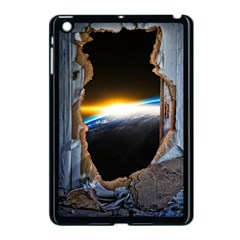 Door Breakthrough Door Sunburst Apple Ipad Mini Case (black)