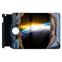 Door Breakthrough Door Sunburst Apple Ipad 3/4 Flip 360 Case