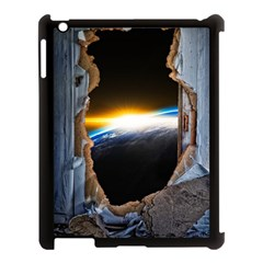 Door Breakthrough Door Sunburst Apple Ipad 3/4 Case (black)