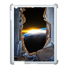 Door Breakthrough Door Sunburst Apple Ipad 3/4 Case (white)
