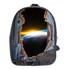 Door Breakthrough Door Sunburst School Bags (xl)