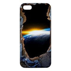 Door Breakthrough Door Sunburst Apple Iphone 5 Premium Hardshell Case