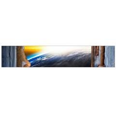 Door Breakthrough Door Sunburst Flano Scarf (large)