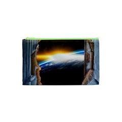 Door Breakthrough Door Sunburst Cosmetic Bag (xs)