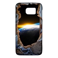 Door Breakthrough Door Sunburst Galaxy S6