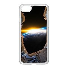 Door Breakthrough Door Sunburst Apple Iphone 7 Seamless Case (white)