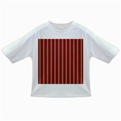 Pattern Background Red Stripes Infant/toddler T Shirts