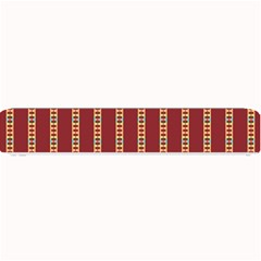 Pattern Background Red Stripes Small Bar Mats