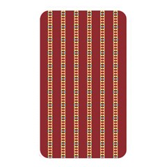 Pattern Background Red Stripes Memory Card Reader