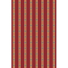 Pattern Background Red Stripes 5 5  X 8 5  Notebooks
