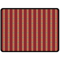 Pattern Background Red Stripes Fleece Blanket (large)