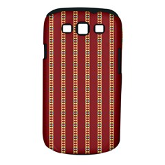 Pattern Background Red Stripes Samsung Galaxy S Iii Classic Hardshell Case (pc+silicone)