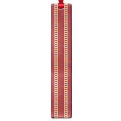 Pattern Background Red Stripes Large Book Marks
