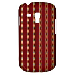 Pattern Background Red Stripes Galaxy S3 Mini