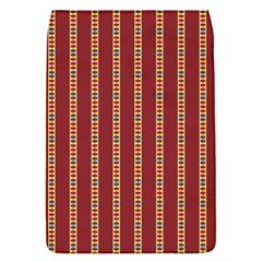 Pattern Background Red Stripes Flap Covers (s)